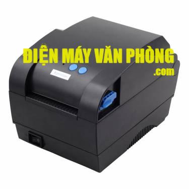 Máy in mã vạch 2 tem Xprinter XP 330U